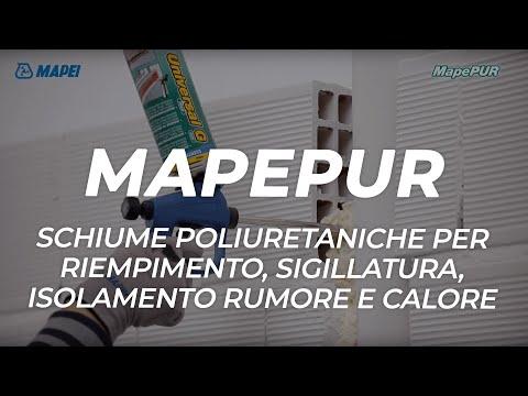 MAPEI: MapePur - schiume poliuretaniche riempitive