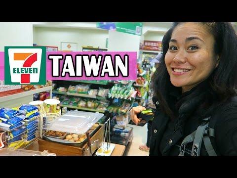 7- ELEVENS IN TAIWAN | Shopping in Taiwan