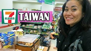 7- ELEVENS IN TAIWAN | Shopping in Taiwan
