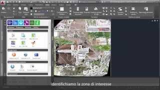 Importazione ortofoto e curve di livello di Pix4D in Analist