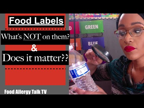 What's NOT on a Food label?: How to avoid Cross Contamination | Food Allergies
