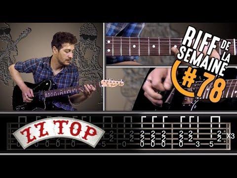 | RIFFS DE LÉGENDE | La Grange de ZZ Top - Tuto guitare