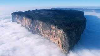 AMAZING !!! Tabletop Mountains or Tepuis    #Venezuela