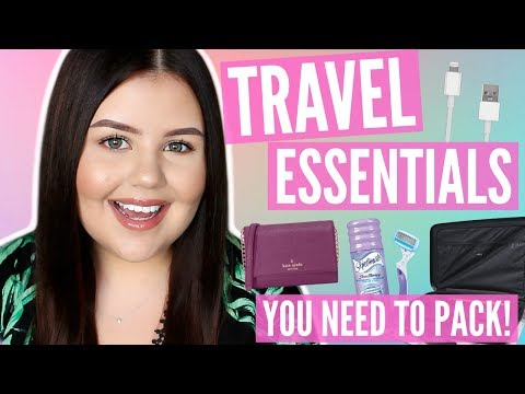 TOP 10 TRAVEL ESSENTIALS | Things You NEED to Pack!
