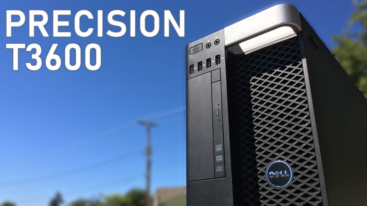Dell Precision T3600 Workstation Post-Unboxing Overview