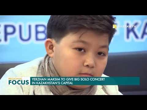 Yerzhan Maksim to Give Big Solo Concert in Kazakhstan's Capital