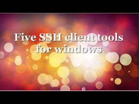Top 5 Useful Ssh Client Tools