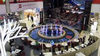 """Фонтан """"Часы"""" в торговом центре Европейский"""