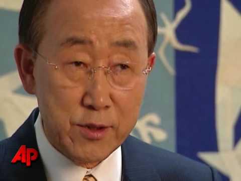 U.N. Sec'y Gen: Now Is Time Rally Around Kabul