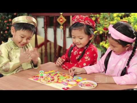 """Quảng cáo phô mai Con Bò Cười Tết 2015 - Trò chơi """"Đua Xuân"""""""