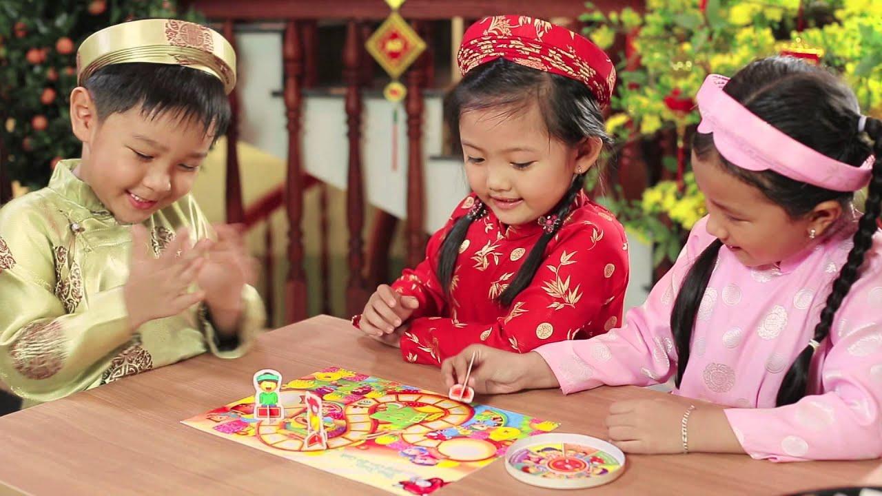 """Quảng cáo phô mai Con Bò Cười Tết 2015 – Trò chơi """"Đua Xuân"""""""