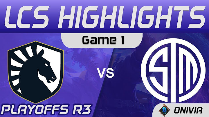 tl vs tsm highlights game 1 playoffs r3 lcs spring 2021 team liquid vs team solomid by onivia