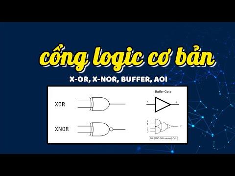 Các cổng logic cơ bản: X-OR, X-NOR, BUFFER, AOI #Shorts   HOCVIENiT.vn