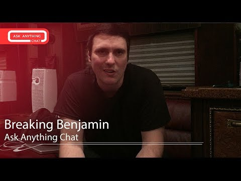 Breaking Benjamin Interactive Chat w/ Nikki Sixx  & Sixx Sense - AskAnythingChat