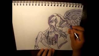 How to Draw Challenge: The Seventeenth - Yuzuki Yukari (COLOR)