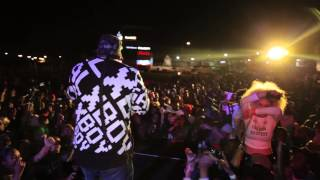 Cassper Nyovest performing at Kosher Nights in Gaborone, Botswana