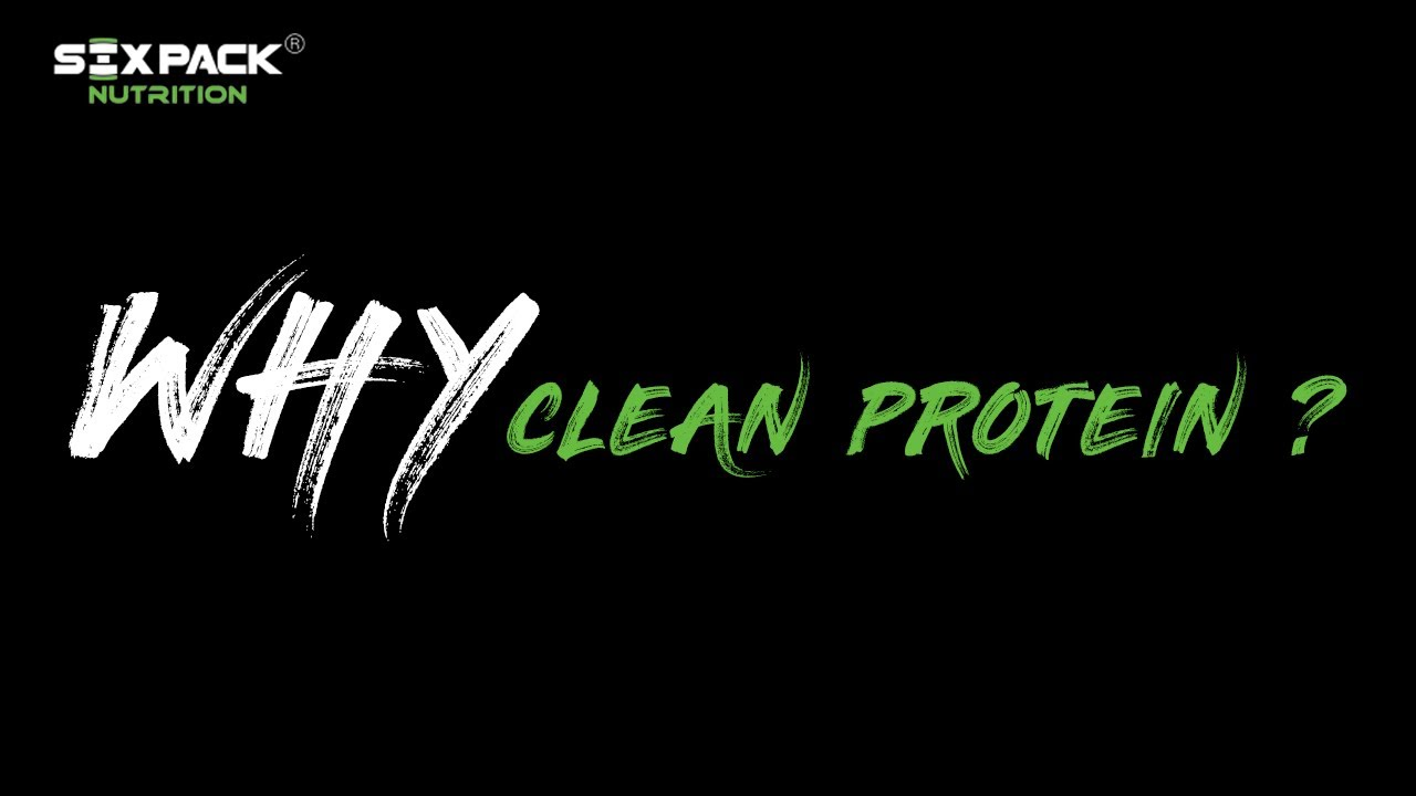 Why Clean Protein ?  | Clean Label Series | The Promise of Nothing Artificial