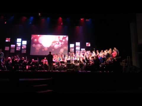 First Alliance Church Calgary - 75th anniversary - Choir singing