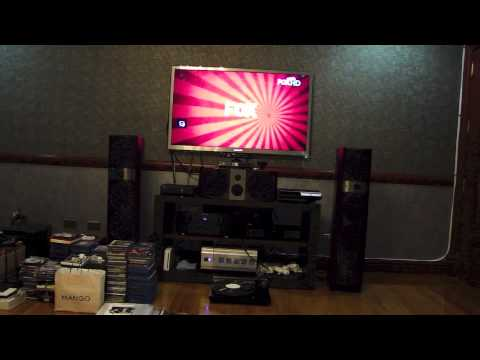 bedroom home theater - youtube