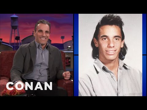 Sebastian Maniscalco Insists His Mullet Wasn't A Mullet   CONAN on TBS