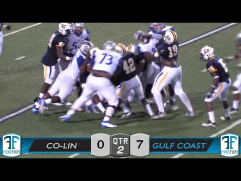 MS JUCO Football Footage 09/15/2016 - #3 Copiah-Lincoln vs Miss Gulf Coast