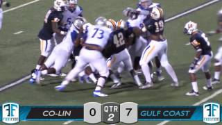 ms juco football footage 09 15 2016 3 copiah lincoln vs miss gulf coast