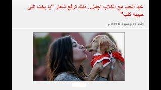 الفلانتين عيد الحب مع الكلاب أجمل