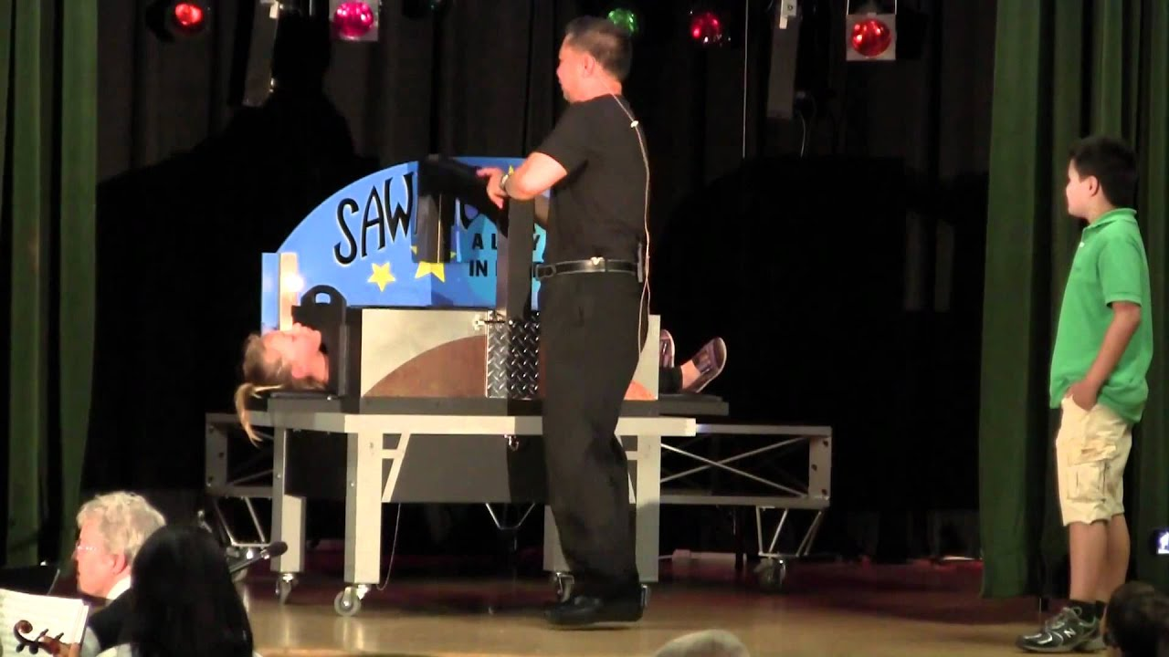 Sawing A Girl In Half Illusionmp4 - Youtube-1328