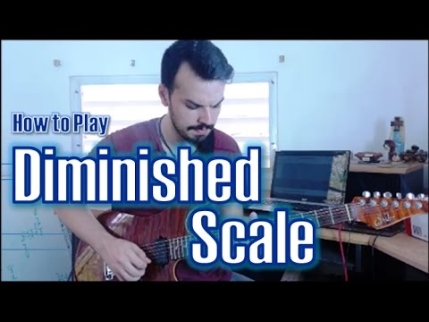 Diminished Scale | How to Play Outside Jazz Rock Fusion #4