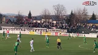 1L: Sandecja Nowy Sącz - Warta Poznań [Fans]. 2019-03-30