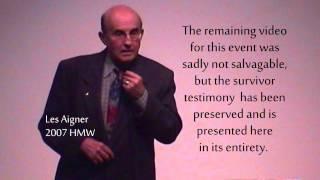 """Les Aigner - """"Surviving the Holocaust"""" Thumbnail"""