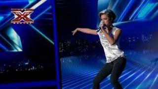 Юлия Плаксина - No Stress - Laurent Wolf  - Седьмой прямой эфир - Х-Фактор 3 - 08.12.2012