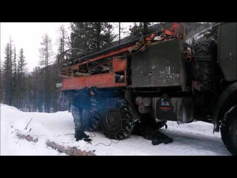 Дорога из деревни Верхняя Гутара в город Нижнеудинск
