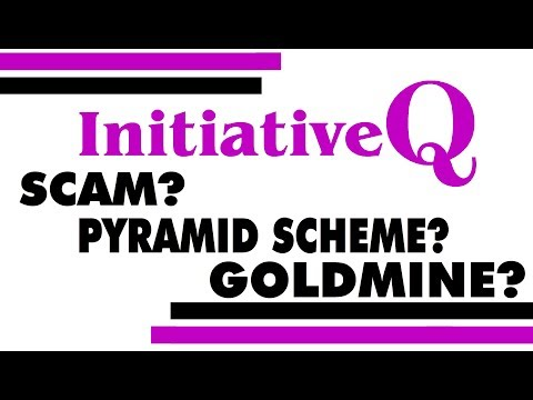 INITIATIVE Q - SCAM? PYRAMID SCHEME? GOLDMINE? - WHAT EXACTLY IS IT?