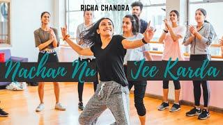 Nachan Nu Jee Karda | Angrezi Medium | Richa Chandra's Choreography