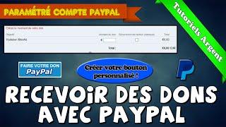 [Tuto] Comment recevoir des dons avec Paypal | Bouton