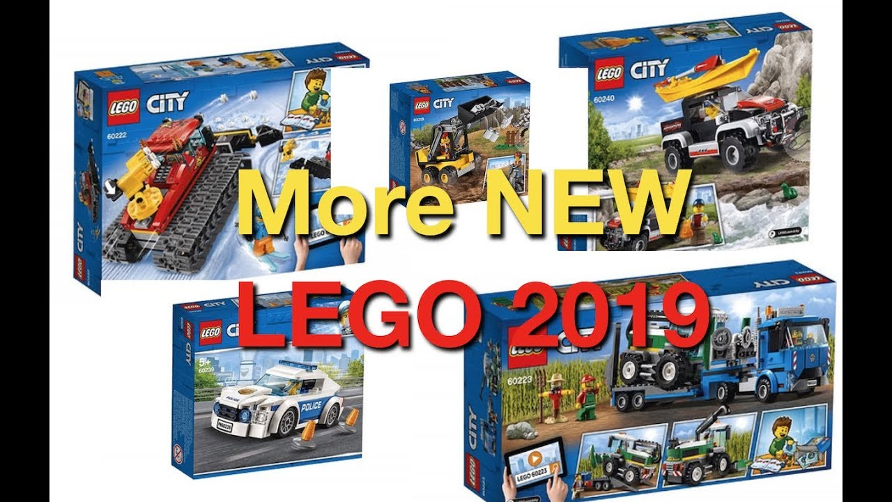 more new 2019 lego city sets official pictures youtube. Black Bedroom Furniture Sets. Home Design Ideas