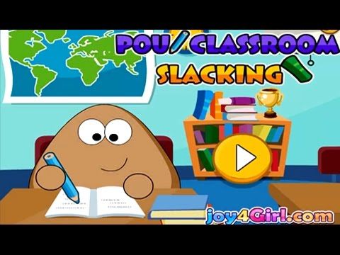 Videos para Nios  Pou en la Escuela  YouTube