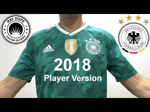 Germany 2018 World Cup Away Jersey Climachill Player Version