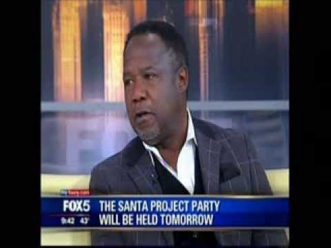 ISIAH WHITLOCK, JR ON  GOOD DAY NEW YORK DISCUSSING UCP OF NYC SANTA PROJECT PARTY 12313