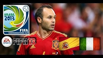 Italien : Spanien - 27. Juni 2013 Confed Cup [FIFA 13 Prognose]