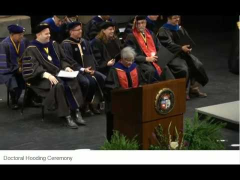Doctoral Hooding Ceremony Spring 2016 - University of Missouri - Columbia
