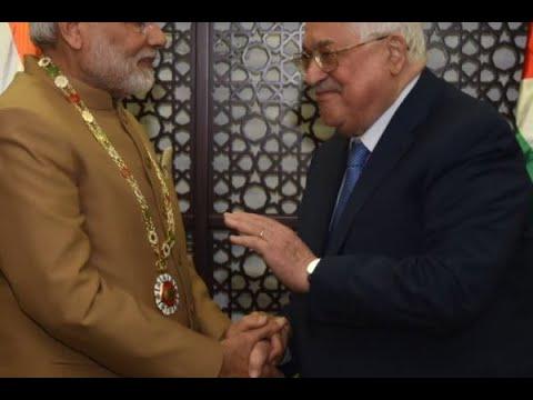 Prime Minister Narendra Modi conferred 'Grand Collar of the State of Palestine'