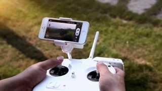 DJI Phantom 2 Vision GPS RC Quadcopter With 5.8G Radio FPV Camera
