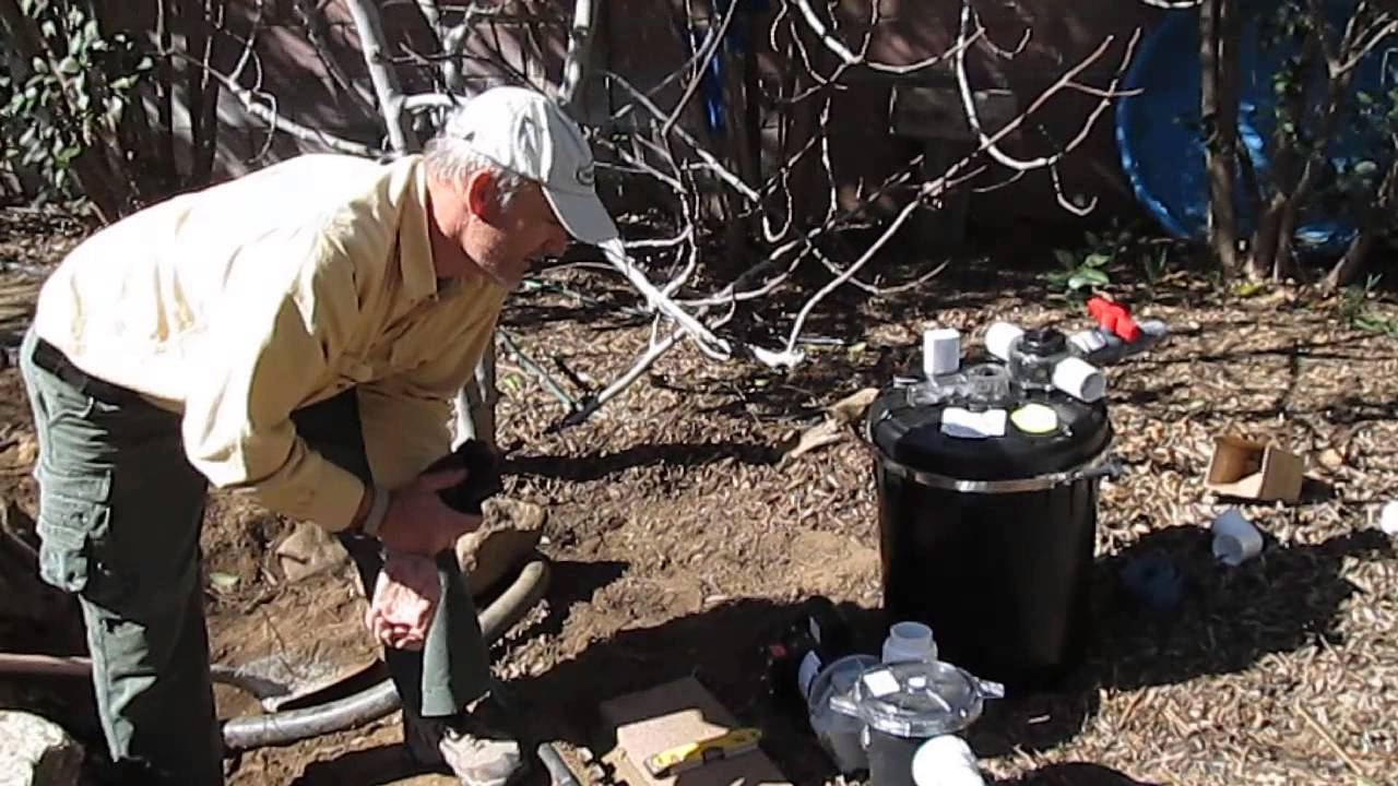 How to install an external pond pump and filter system for Pond pump installation