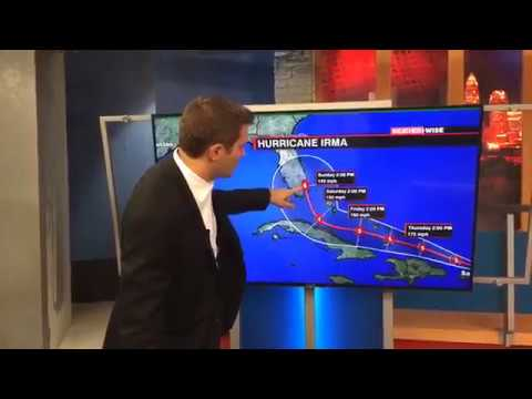 WCCB Weather Wise: Hurricane Irma Update with Greg Armbrecht