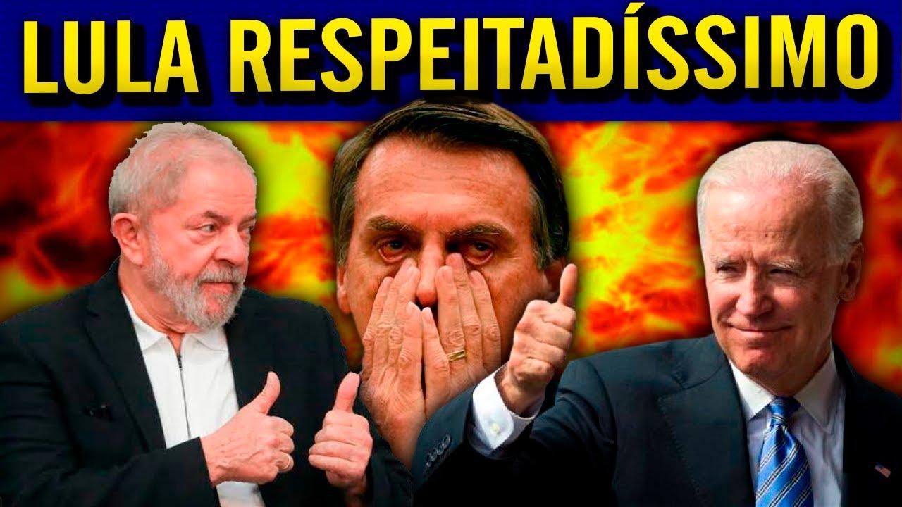 EUA VÃO PRA CIMA DE B0LSONARO E BIDEN COPIA IDEIA LULA!!