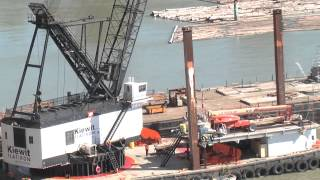 Dismantling the old Port Mann Bridge