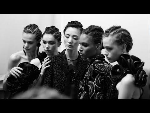 Giorgio Armani FW 19-20 Men's and Women's Fashion Show: Backstage Video