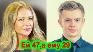 Вышла замуж за ровесника старшего сына и стала матерью в 46 Дочь знаменитого Андрея Миронова Мария